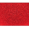 Seedbead Transparent Light Red 10/0